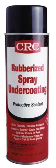 Rubberized Spray Undercoating