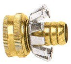 Female Garden Hose Coupler - Brass