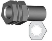 Center Support Fitting - Clip Mount - HFC11