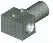 Imperial Female Fitting - Bracket Mount - HFIF90