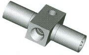 Metric Female Fitting - Bolt on Mount - HFMF69