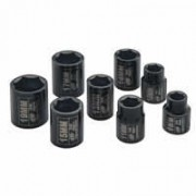 "IR Impact Socket Set - 3/8"" Drive  Metric Deep  - 8 Pieces"