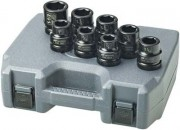 "IR Impact Socket Set - 1"" Drive  SAE Standard  - 8 Pieces"