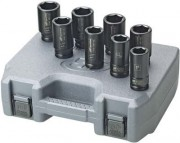 "IR Impact Socket Set - 1"" Drive  SAE Deep  - 8 Pieces"